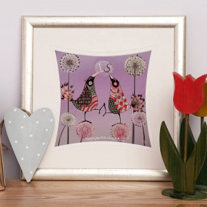 from-lucy-Personalised-Love-Birds-Print