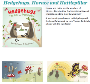 Horace & Hattipillar Sneak Peek