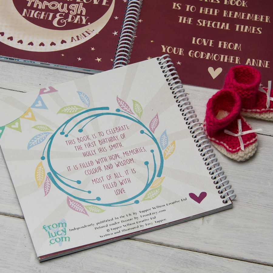 A christening book for that special day filled with beautifully designed and illustrated life affirming quotes and phrases with spaces for christening guestsfamily membersfriends to write their thecheapjerseys Choice Image