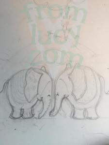 watermark elephants