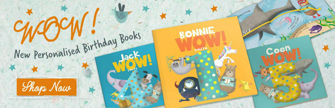 Personalised Birthday Books