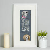 Personalised Illustrated Dog Portrait