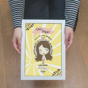 Personalised Illustrated 'This Girl' Print For Mum