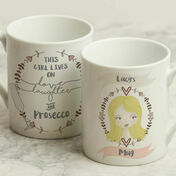 Personalised Illustrated 'This Girl' Mug For Her