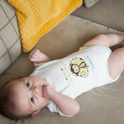Personalised 'The Day You Were Born' Themed Baby Grow