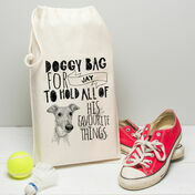 Personalised Illustrated Doggy Bag