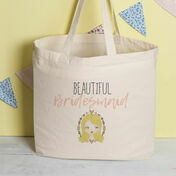 Personalised Tote Bag For Bridesmaids