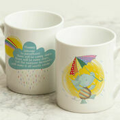 Personalised Elephant New Parents Mug