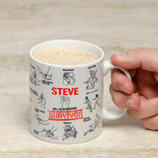 Personalised Retro School Mug