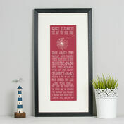 18th Birthday 'The Day You Were Born' Special Edition Personalised Print