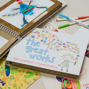 The Great Works Children's Artwork Holder