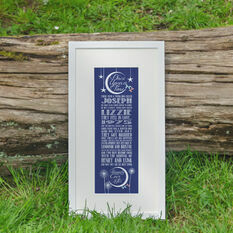 Anniversary 'Once Upon A Time' Personalised Print