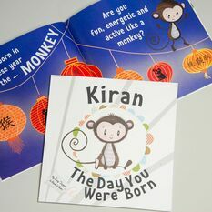 International 'The Day You Were Born' Personalised Book