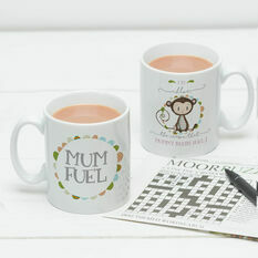 Personalised Mum and Dad Fuel Mug
