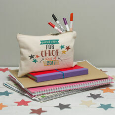 Personalised Pencil Case For Primary School Leavers