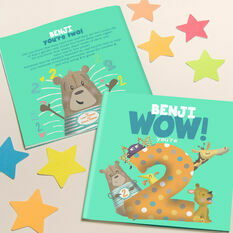 'Wow You're Two' 2nd Birthday Children's Book