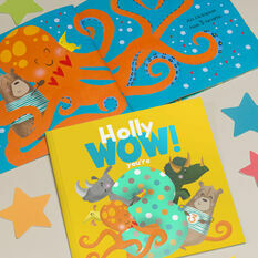 'Wow You're Three' 3rd Birthday Children's Book