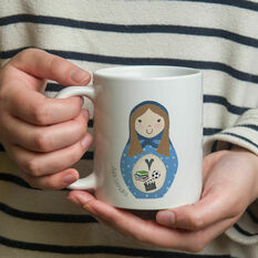 Personalised Russian Doll Mug