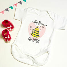 Personalised 'My Mum' Baby Grow