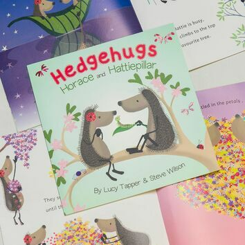 Hedgehugs \'Horace & Hattiepillar\' Children\'s Book