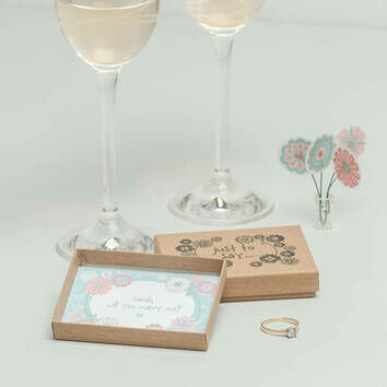 Just To Say... Engagement/Wedding Box
