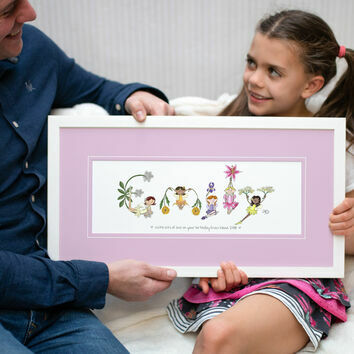 Fairy Name Personalised Print
