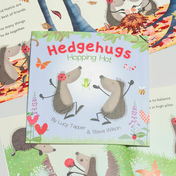 Hedgehugs \'Hopping Hot\' Children\'s Book