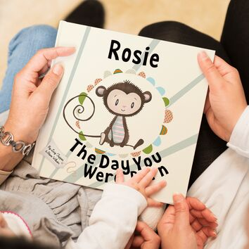 'The Day You Were Born' Personalised New Baby Book