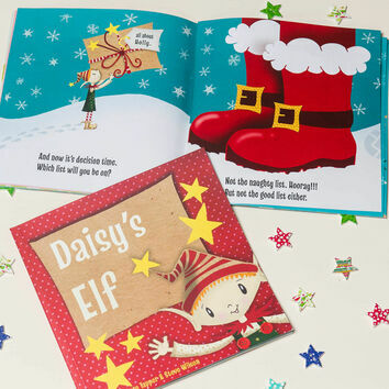 \'Your Elf\' Personalised Children\'s Christmas Story Book