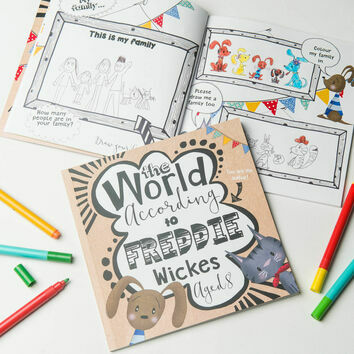 'The World According To...' Personalised Child's Journal