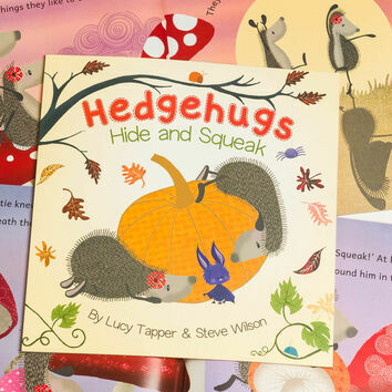 Hedgehugs \'Hide & Squeak\' Children\'s Book