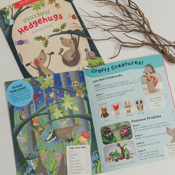 Hedgehugs 'Woodlands' Children's Activity Book