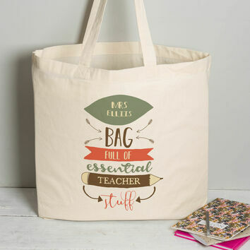 Personalised Tote Bag For Teachers