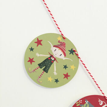 Personalised Family Christmas Bunting
