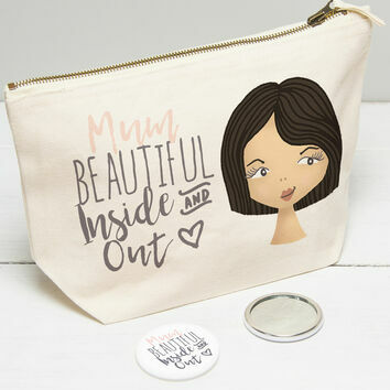 Personalised Make Up Bag For Mum