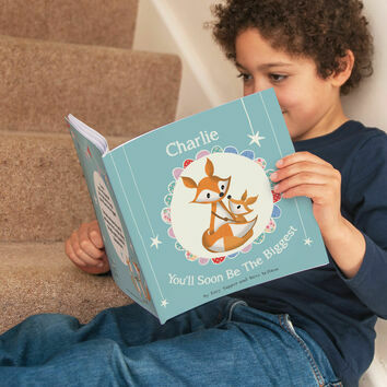 \'You\'ll Soon Be The Biggest\' Personalised Children\'s Book