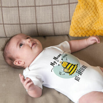 Personalised \'My Mum\' Baby Grow