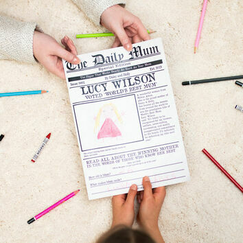 'The Daily Mum' Personalised Newspaper for Mums