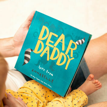 Personalised 'Dear Daddy' Book For Special Occasions