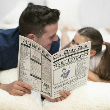 \'The Daily Dad\' Personalised Newspaper for Dads