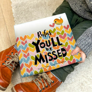 'You'll Be Missed' Personalised Book