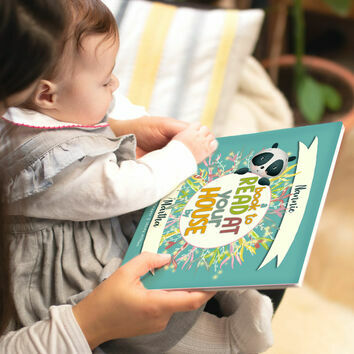 'A Book To Read At Your House' Personalised Book for Grandmothers