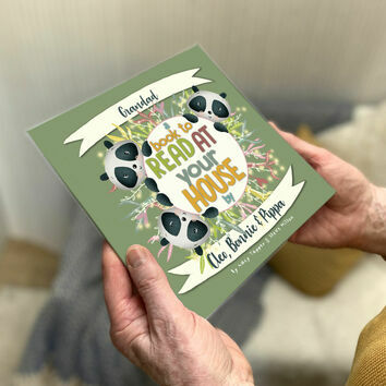 \'A Book To Read At Your House\' Personalised Book for Grandads