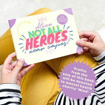 'Not All Heroes Wear Capes' Thank You Key Workers Mini Book