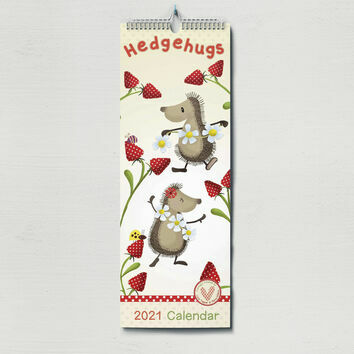Hedgehugs 2021 Slim Calendar