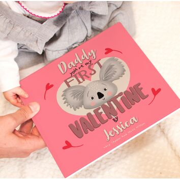 \'You\'re My First Valentine\' Personalised Book For Parents