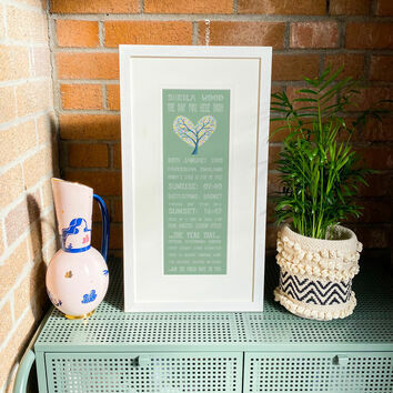 70th Birthday 'The Day You Were Born' Special Edition Personalised Print