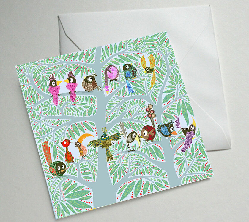 Illustrated Birthday Cards Set Of Five only 1050 – Set of Birthday Cards