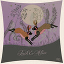 Moonlight Hares Personalised Love Print additional 2