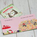 Hedgehugs 'Horace & Hattiepillar' Children's Board Book additional 1